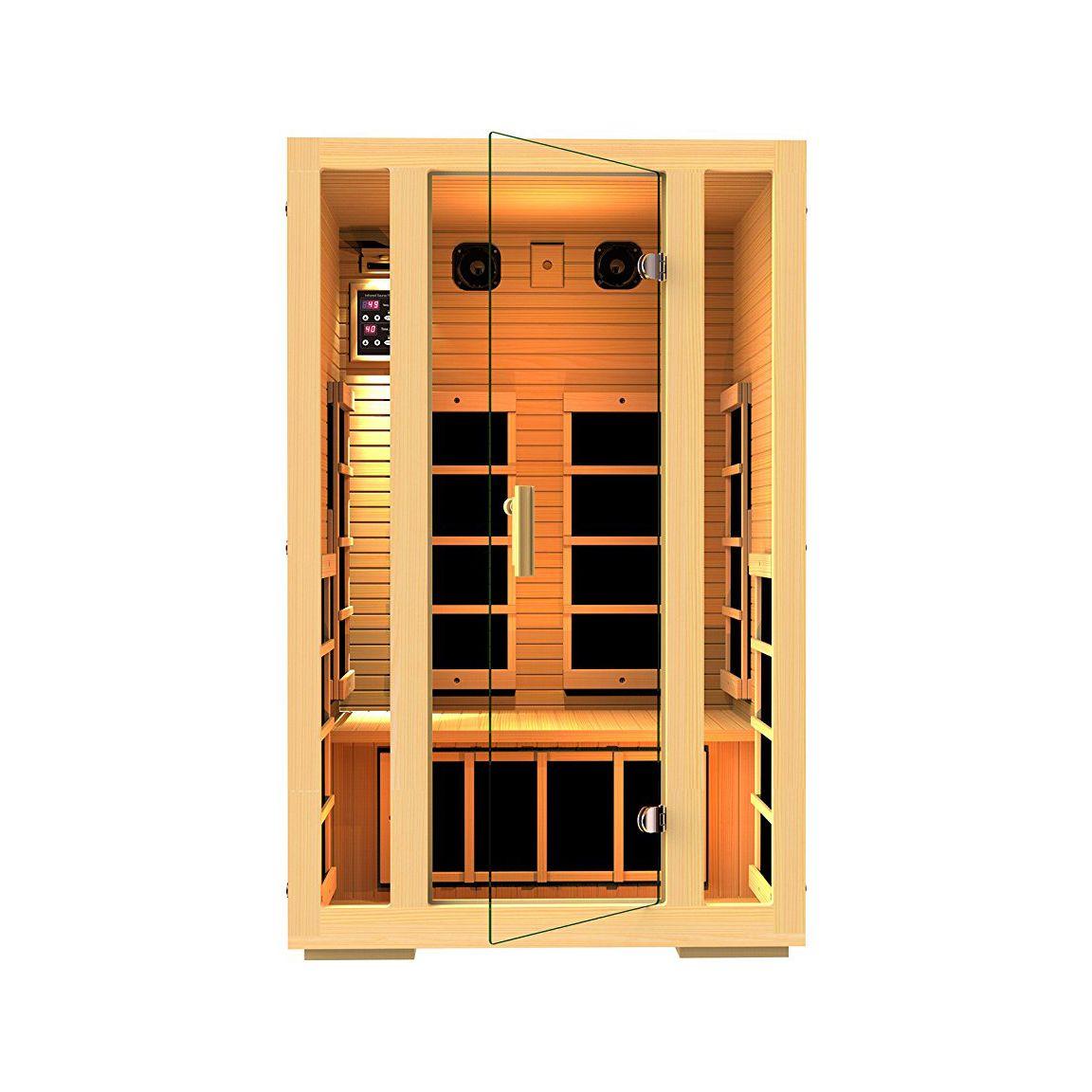 Home Sauna Kits Since 1974 joyous 2-person sauna