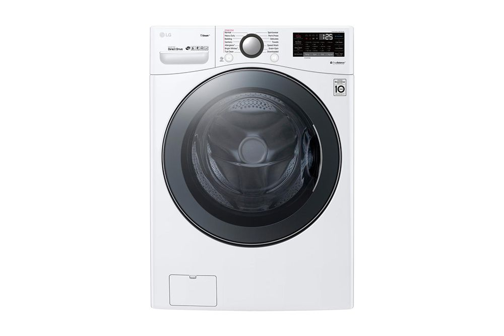 LG WM3900HWA 4 5 cu  ft  Front Load Washing Machine