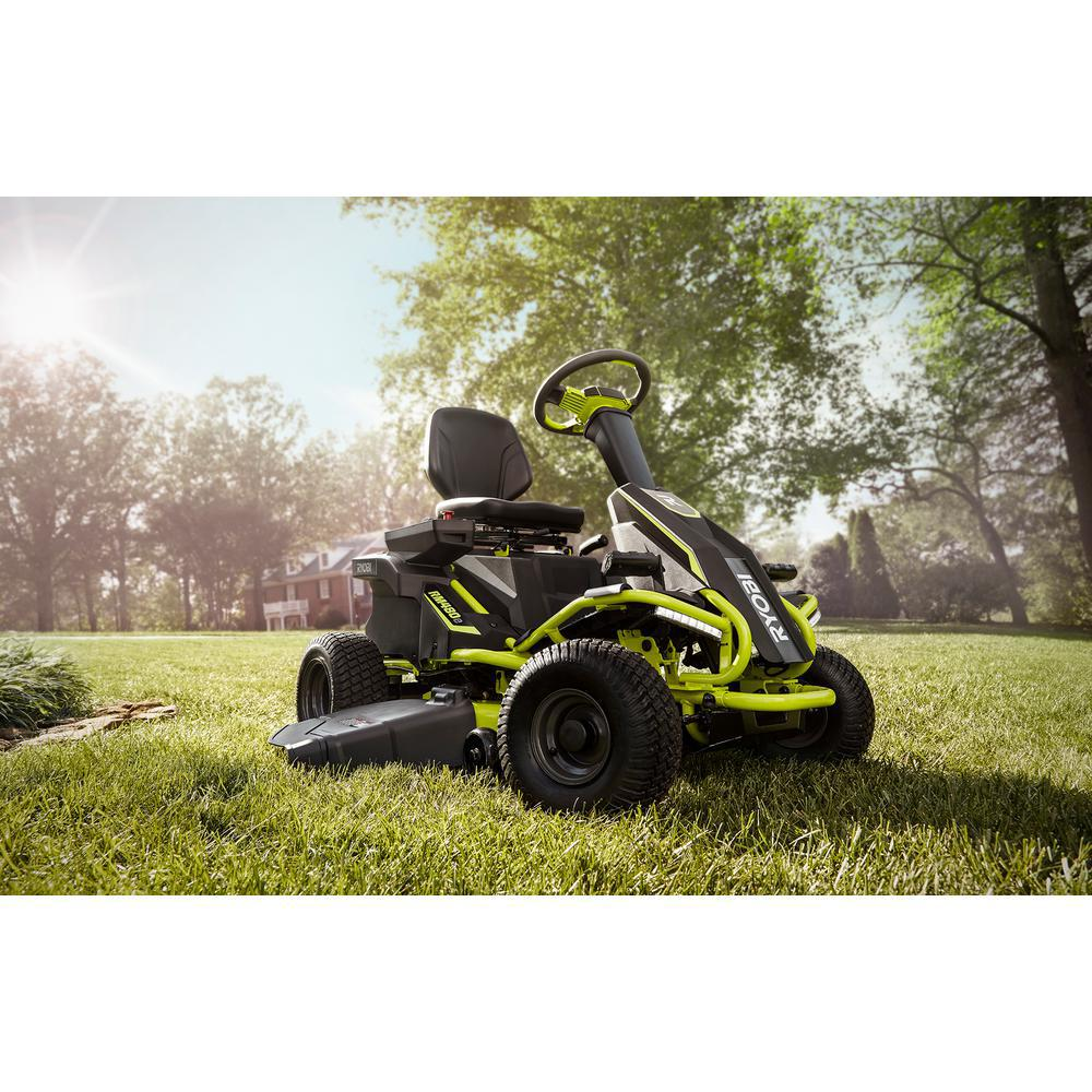 38-inch 100 Ah Battery Electric Rear-Engine Riding Lawn Mower