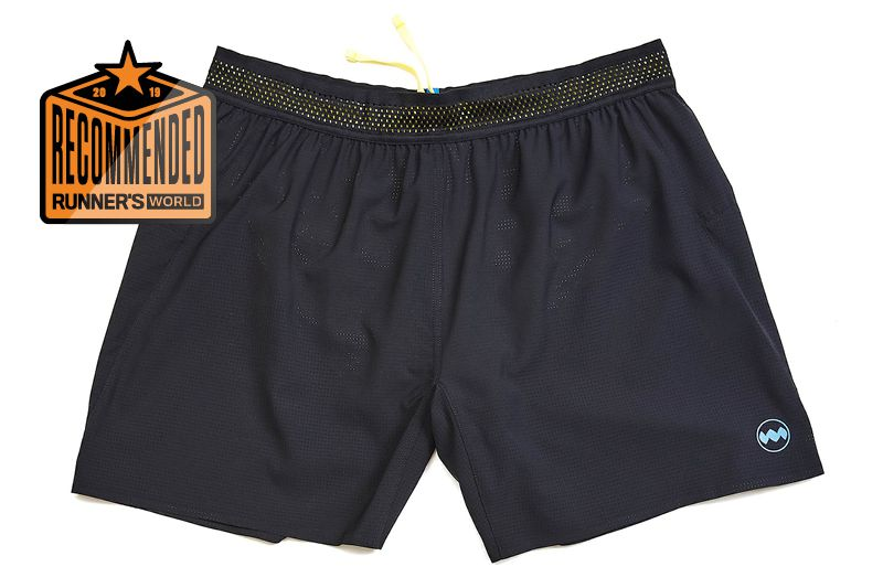 More Mile More-Tech Square-Cut Mens Running Shorts