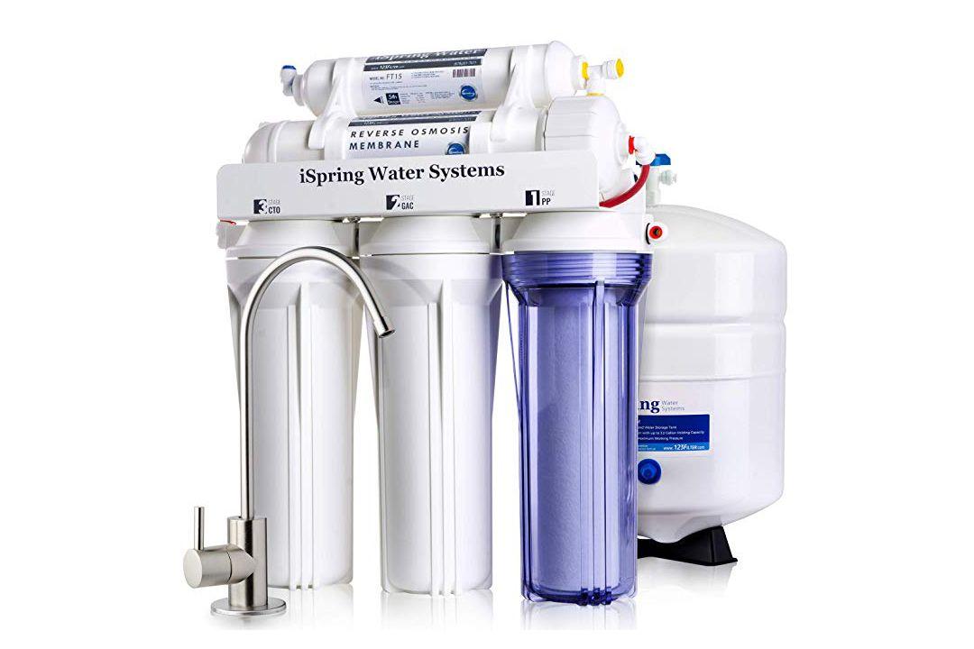 RCC7 5-Stage Reverse Osmosis Under-Sink Filter