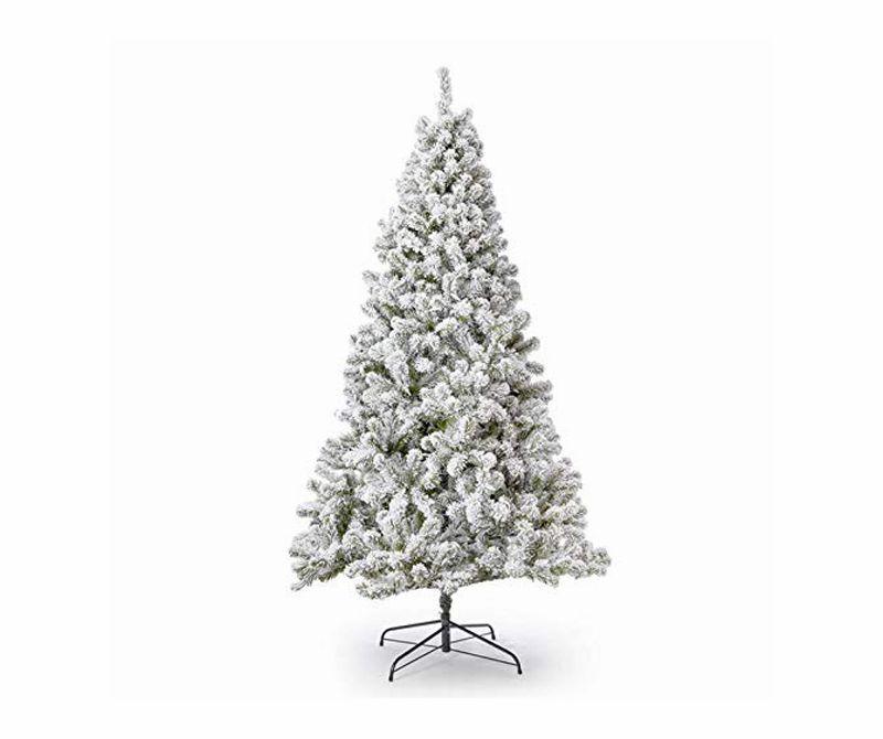 Holiday Silver PVC Artificial Christmas Tree 6 Feet