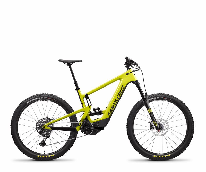 First Look Santa Cruz Heckler E Bike Electric Mountain Bikes