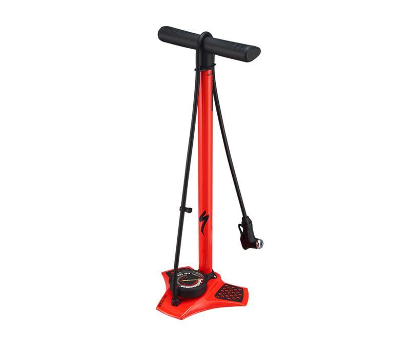 NEW Bike Cycle Bicycle Tyre Hand Air Mini Pump w//Gauge Heavy Duty Floor Standing